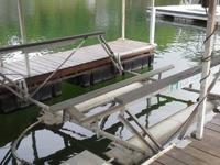 4,000 lb Boat Floater lift with blower motor, newer