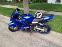 I have a 2002 Kawasaki ZX12R for sale. The bike it