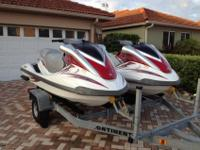 Pair of 2008 Yamaha Fx, there are in great condition,