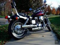 2006 Honda Shadow Spirit very low miles, extra clean