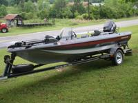 1992 TENNESSEE PRO 15 FOOT E, WITH CHALLENGER SPORT