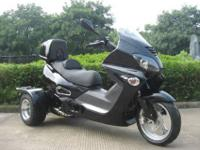The 150cc 3 Wheel Scooter Takes the Trike Market!
