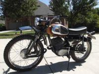 I'm selling a vintage 1969 Sachs motocross bike that