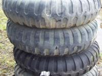 I have (4) 11.00-20 Military Tires $100 each  If