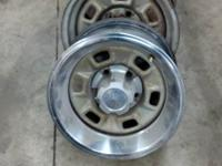 I have (4) 14inch CHEVY ralley rims, beauty rings and