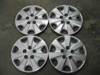 "Four 15"" Honda wheel covers. 5 Lug. Excellent"