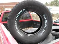 4 255-70-15 cooper cobra tires call leamon or Lenny @
