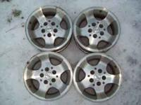 For Sale: $200 Set of 4 Jeep Alloy Wheels. They came