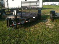 This nice Rolls Rite Equipment trailer is great for