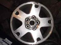 "I have 4 16"" alluminum alloy rims with minor cosmetic"