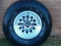 Description They are 8 lug rims
