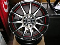 4 16 x 7.5 konig wheels lug pattern: 5 x 100mm and 5 x