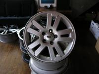 4 17 x 7.5 ford wheels lug pattern: 5 x 4.5 offset: et