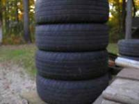 GOOD TIRES 1/2 to 1/4 TREAD, 20ea  Location: