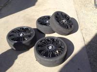 I have four 18 inch tires with rims. At the very least
