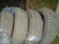 I am selling 4 like new Cooper tires. 2 are Trendsetter
