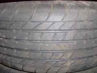 4- 185/70 R13 tires. GT Champiro 70 with 70% tread on