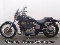 2006 Honda Shadow Spirit VT750 with 2,300 Miles.This is