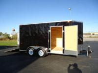 MICHIGAN MADE 7X14 TANDEM AXLE 7000LB GVWR 3/4 PLYWOOD
