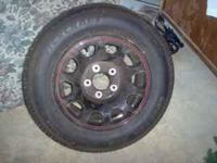4 1996 or newer Ford truck wheels with 2 new tires