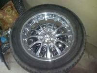 4 20'' Boss rims. All 4 tires are worn but rims are in