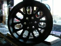 4 20 X 9 KO WHEELS LUG PATTERN: 6 X 5.5 OFFSET: ET 20