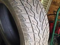 I have 4275/55 r20 tires one does not match. The non