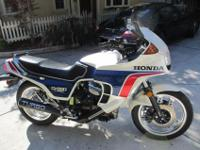 This Honda Turbo was purchased in 1984 brand new. The