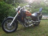 2000 Honda Magna 750 14,900 mi This bike is flawless.