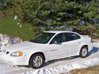 I have for sale a 2001 white Pontiac Grand AM SE1 V6