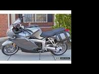 2005 BMW K1200S ABS GRAY color. Very low miles, under