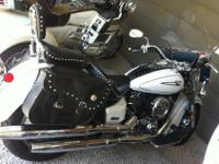We are selling a 2006 Yamaha 1100 V-Star Classic. We