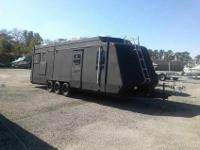 Nice older Toy Hauler. Has fridge toilet,shower,sink,