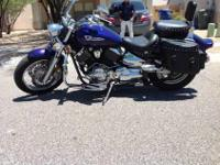 This is a 2004 Yamaha V-Star silverado 1100 for