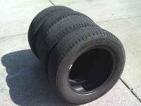 4 > 215-60-16 Goodyear Assurance comfort tread tires