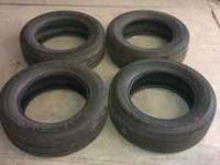 For Sale: 4 Used Kelly Springfield Ultra GT Tires.
