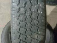 We have a good set of used 225/60/16 used snow tires.