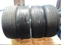 (4) 225/60/18 Goodyear Eagle RS-A High Performance All