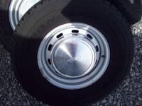 Hello,have 4 e150 wheels/tires,tires are goodyear