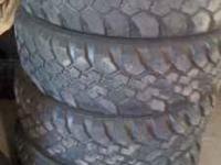 4 matching 245/75-16 buckshot mudder used tires 200.00