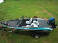 1995 eighteen feet. stratos fish and ski with a 150