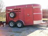 I have a 2003 Bp Bonanza two or 3 horse slant trailer,