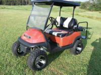2007 Lifted Club Car Precedent, Jakes 6 in Lift, Rear