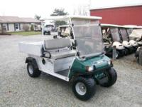 2009 Club Car Carryall 252 Utility Dump Cart with