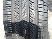(4) 265/60/17 GOODYEAR EAGLE RS-A TIRES APPEAR TO BE