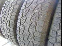 I have a matching set of Hankook Dynapro ATM off our