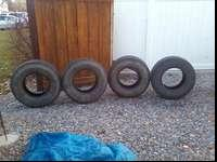 I have 4-265/75 r16 tires. They are all different