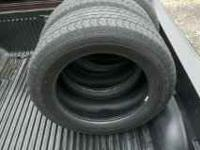 4 275-60-20 good year hp tires still have life left in