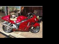 2005 UNRESTRICTED CUSTOM CANDY RED HAYABUSA Custom