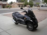 2007 Piaggio Mp3 250, Just in time for winter riding